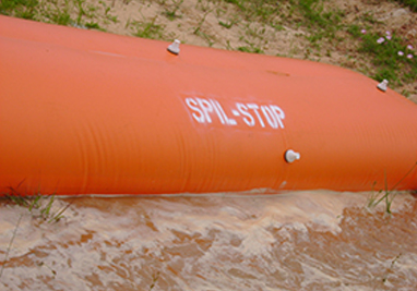 Using A Spill Barrier to Reduce Impacts From A Chemical Spill