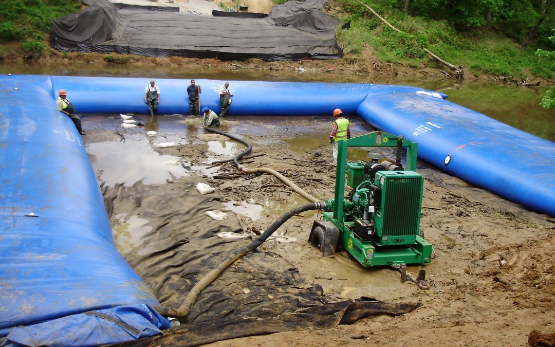Hydrological Solutions Success Story: Tri-State Utilities Aqua Barrier Project