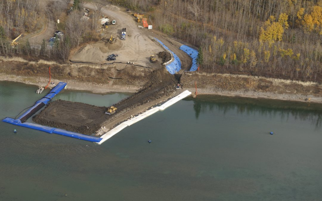 Water Diversion with Aqua-Barrier® Temporary Cofferdams