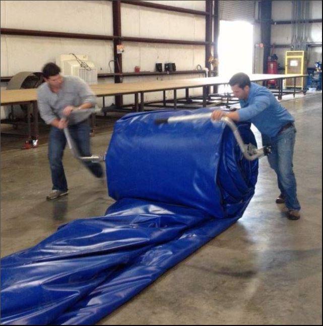 Easier Inflatable Bladder Dam Deployment