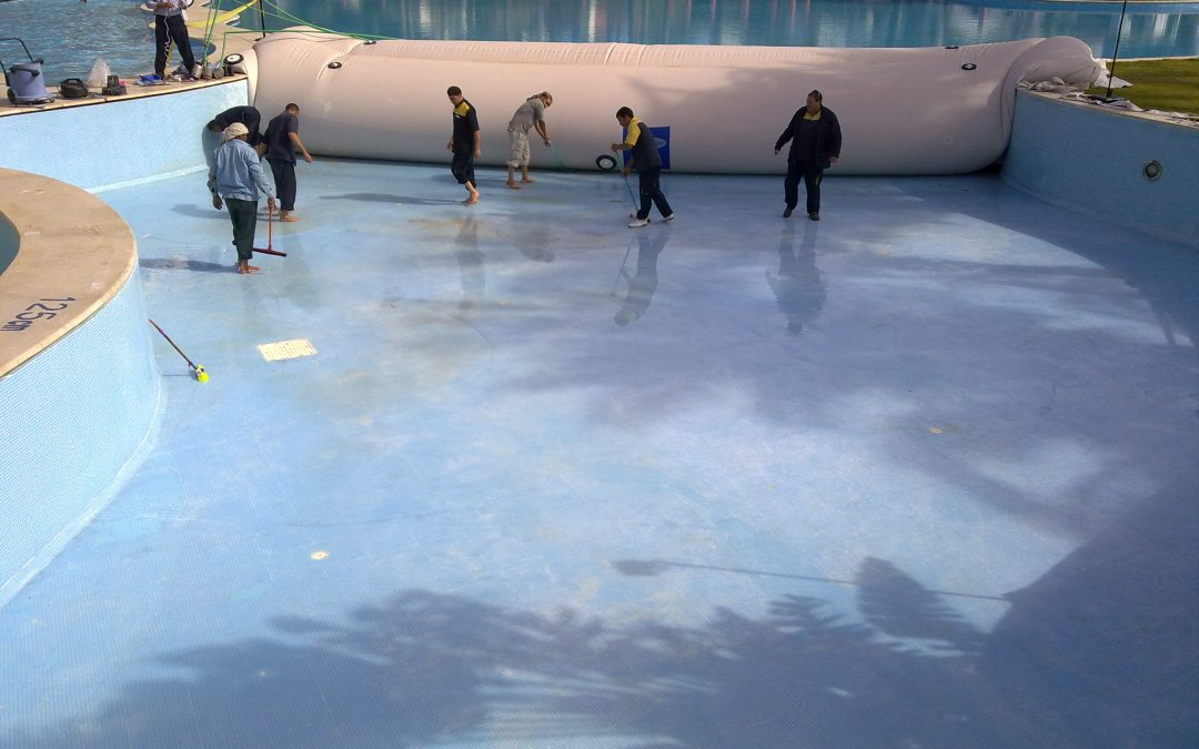 How Inflatable Cofferdams Can Save Pool Water During Maintenance