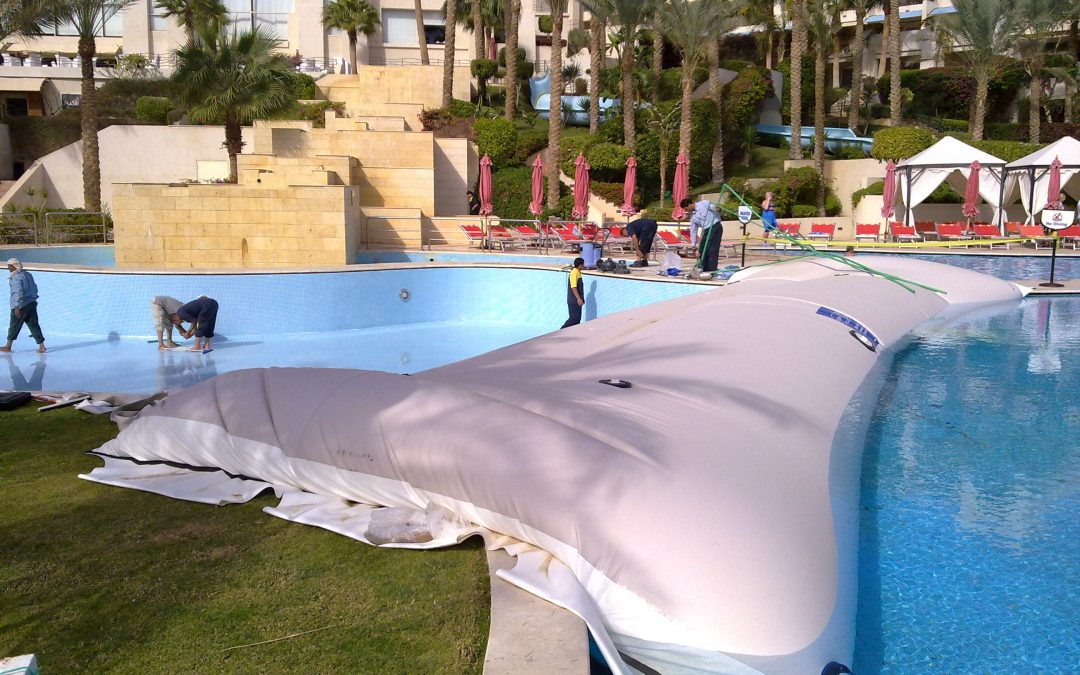 Why Choose a Water-Inflated Cofferdam for Swimming Pool Repairs?