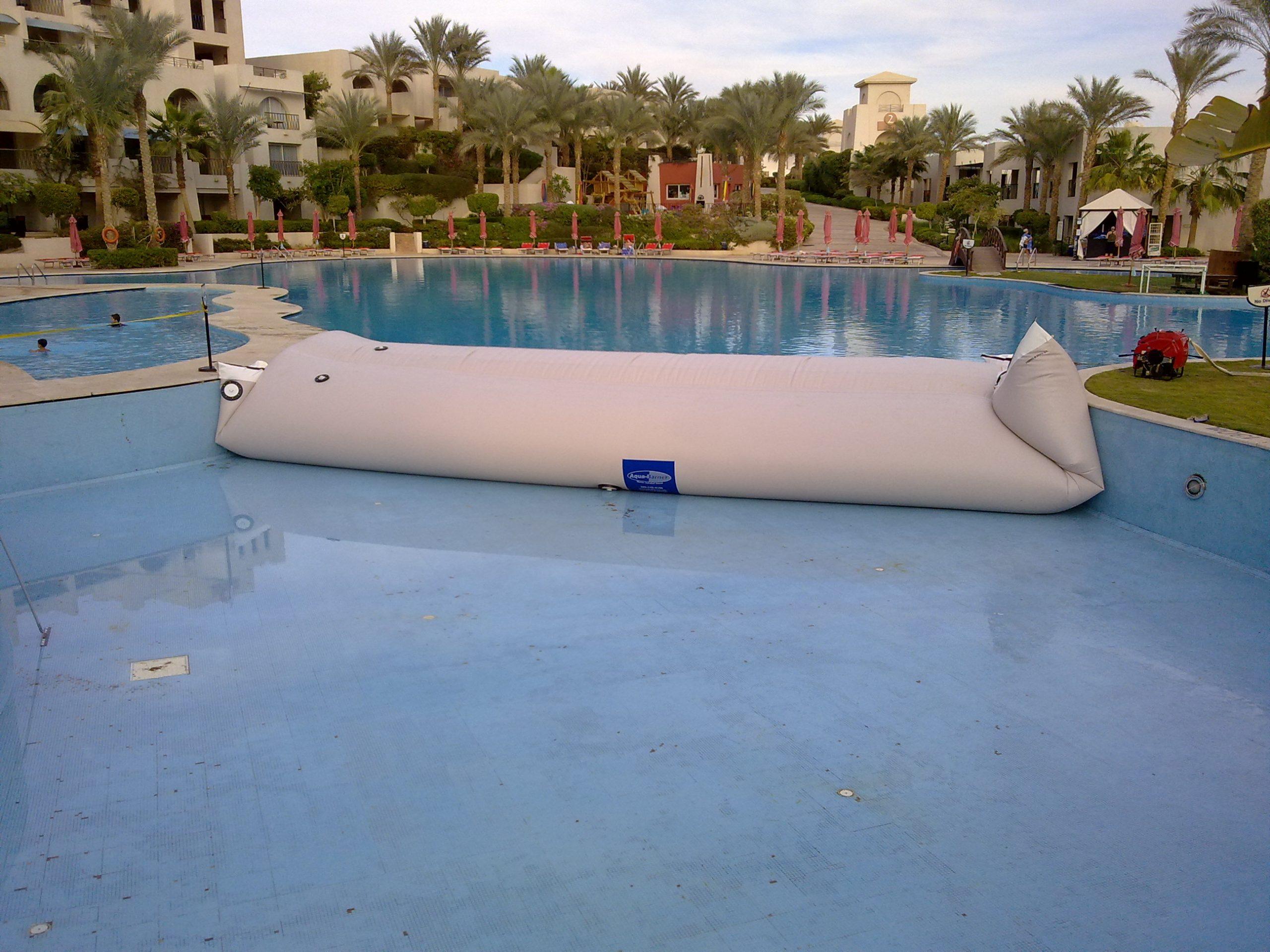 Pool Surface Repair, Pool Water Bladder Rental, HSI Services