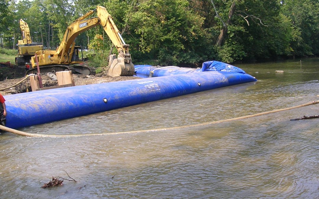 3 Reasons to Choose Inflatable Cofferdam Designs for Construction Projects