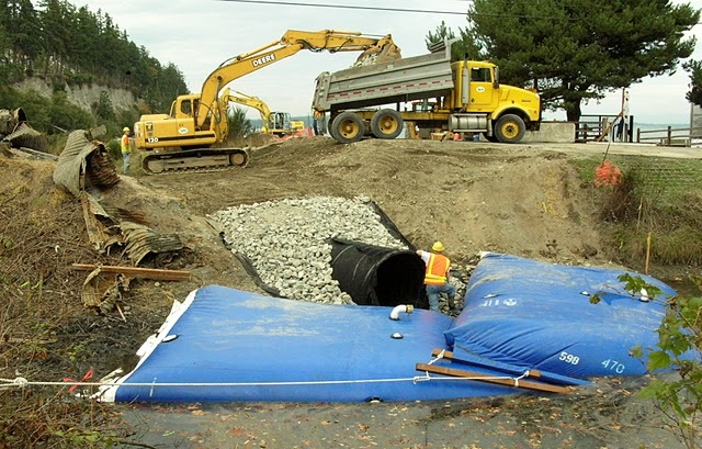 Construction Site Dewatering: Why You Should Get an Aqua-Barrier Soon