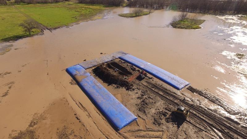 Aqua-Barrier® for Pipeline Construction