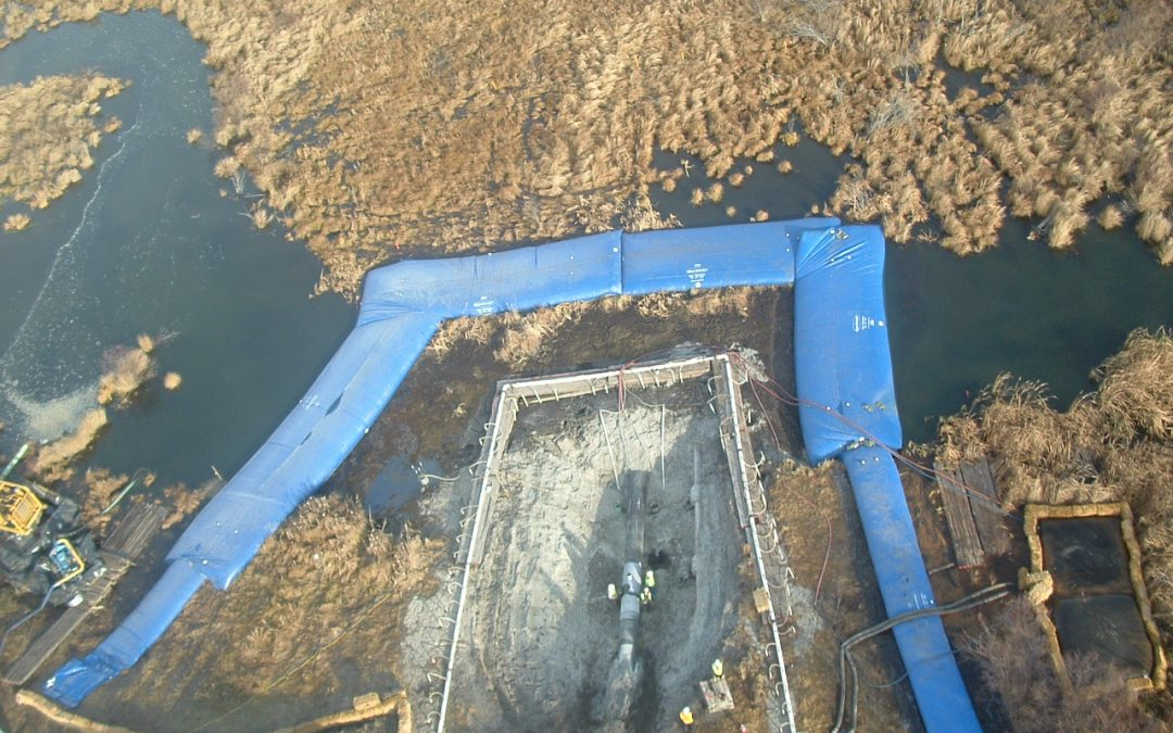 Why Choose a Water-Inflated Cofferdam for Pipeline Construction?