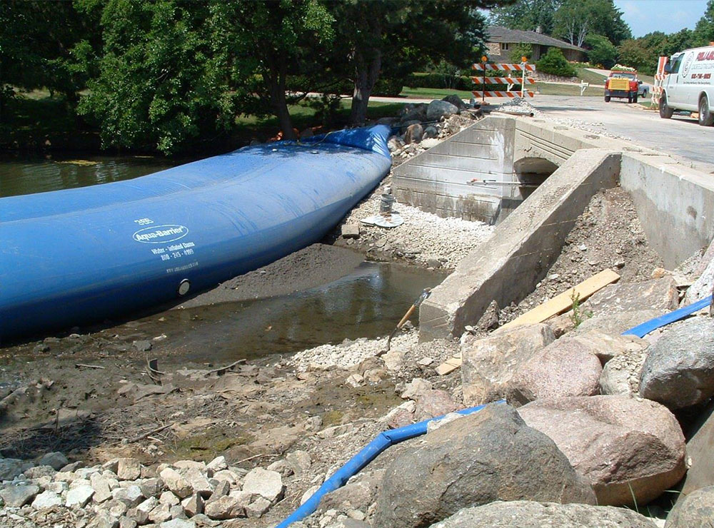Canal & Culvert Construction, Dewatering Applications, HSI Services