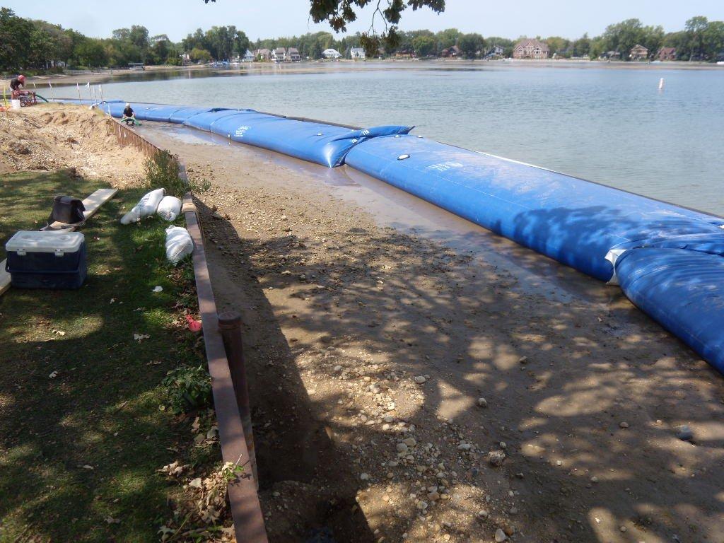Shoreline Restoration Techniques, Temporary Water Dam, HSI Services