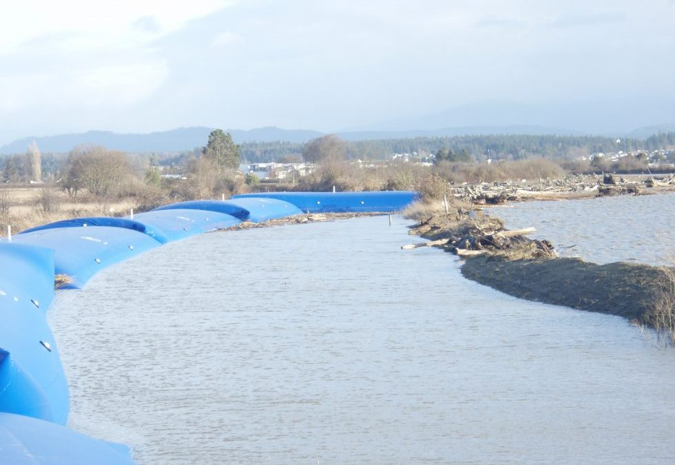 Shoreline Restoration with an Aqua-Barrier