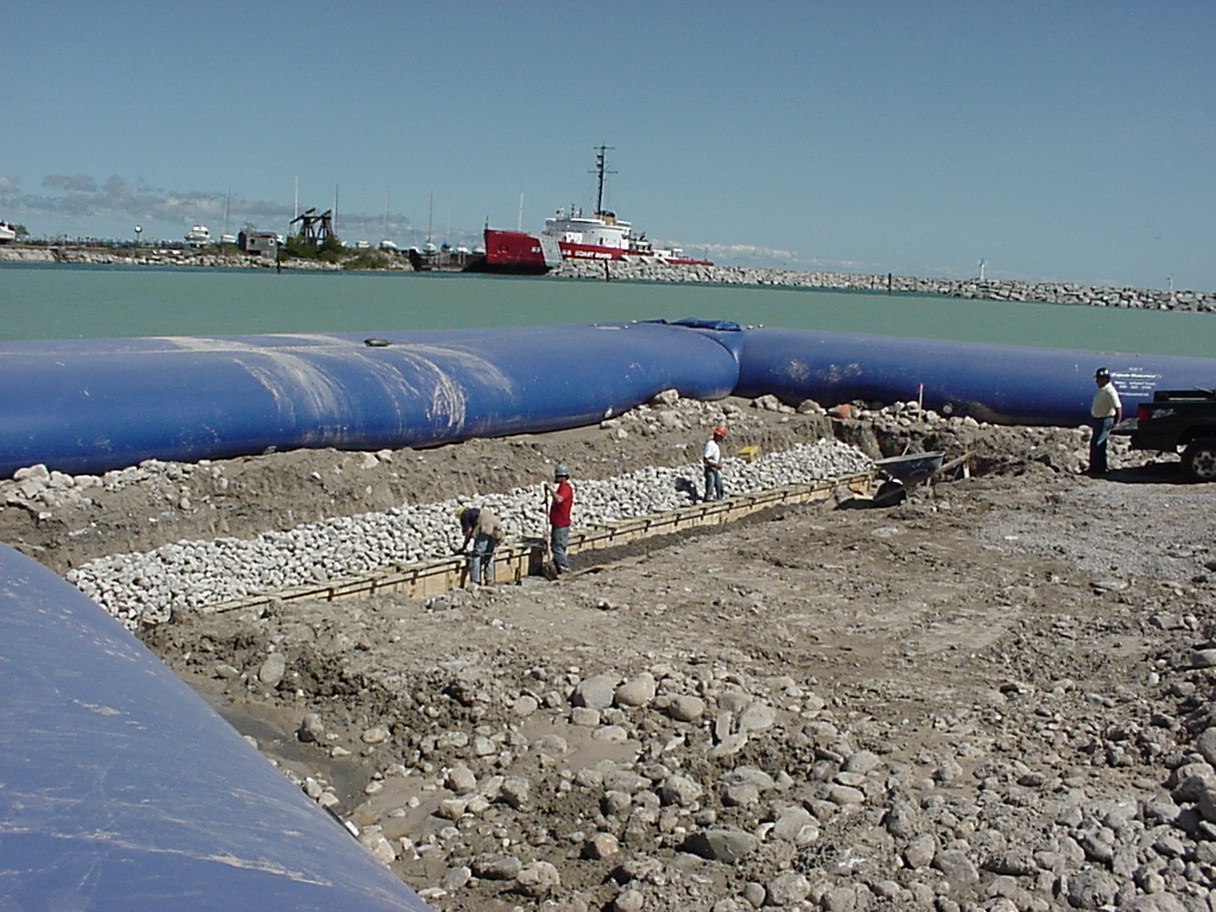Boat Ramp Construction, Inflatable Water Dam, HSI Services