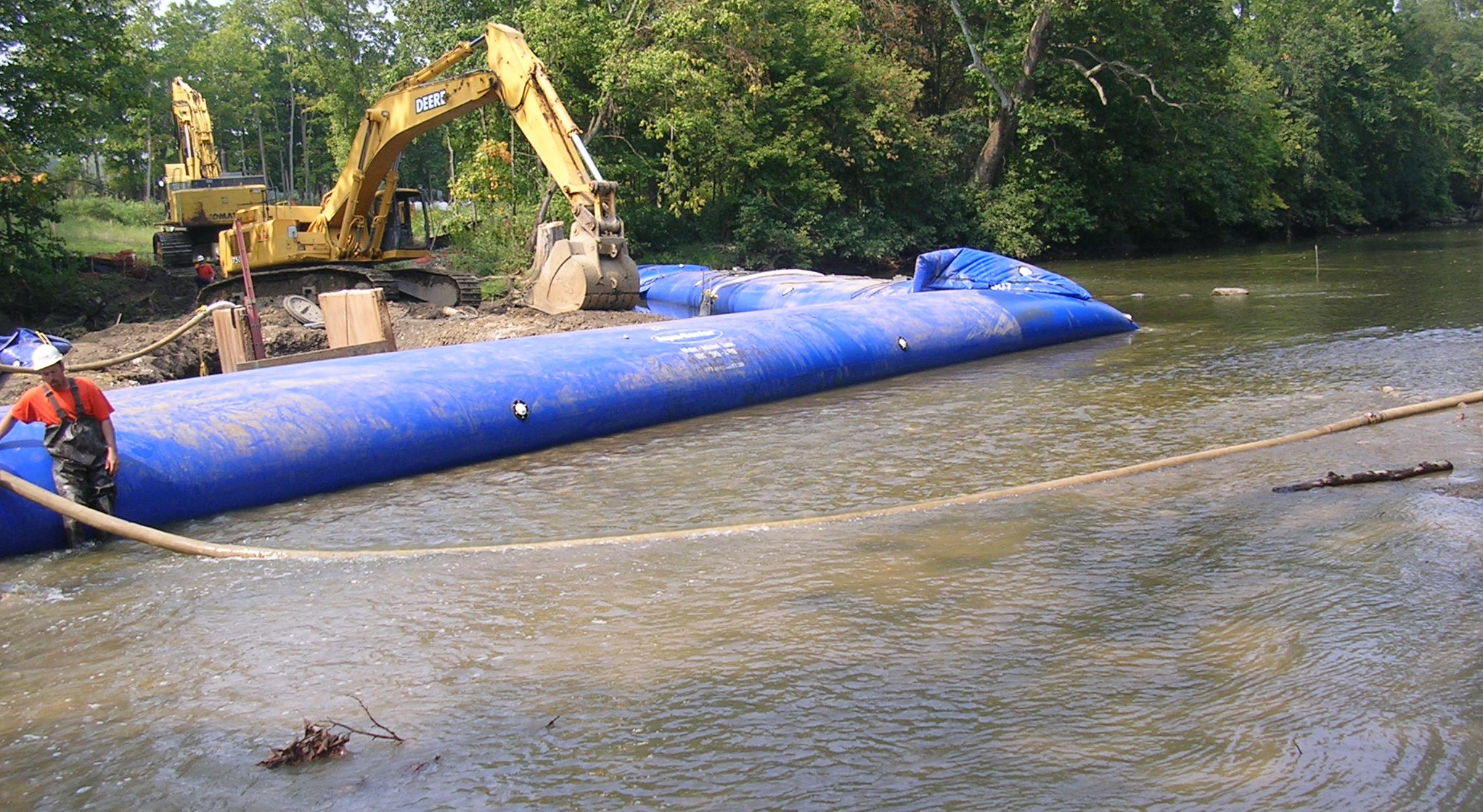 Water Intake & Outfall Structures, Dewatering Applications, HSI Services