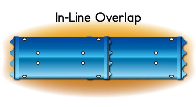 Overlap In Line drawing