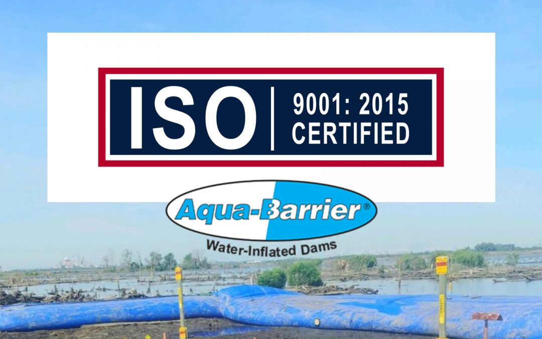 We're Now ISO 9001 Certified!