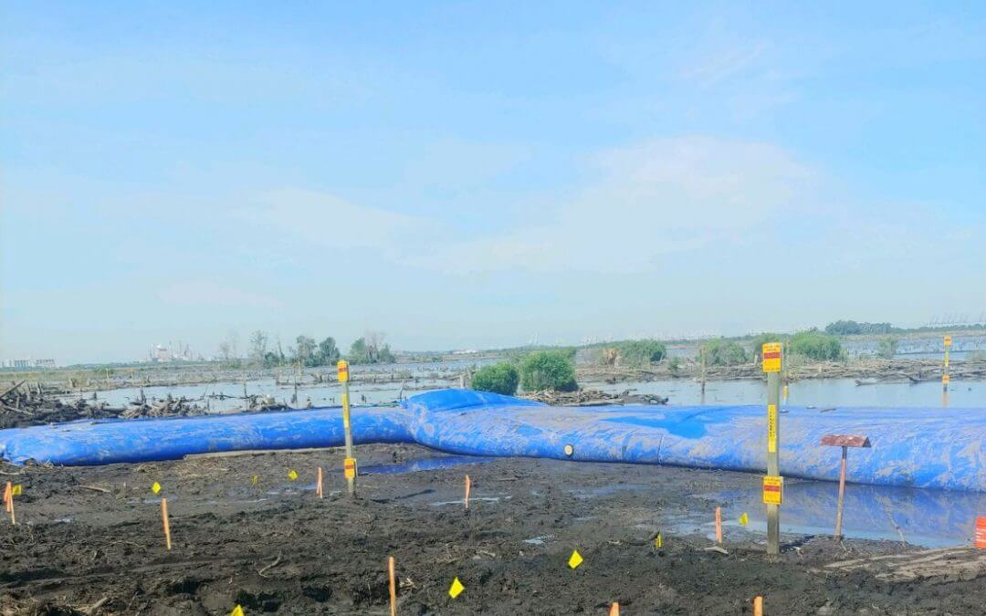 How Does an Inflatable Cofferdam Work?
