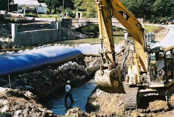 Dewatering Solutions for Bridge or Dam Projects