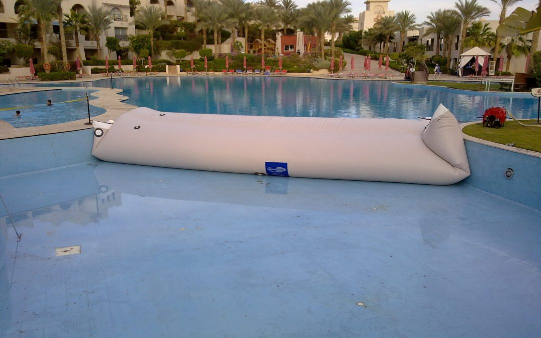The Aqua-Barrier for Pool Surface Repair and Maintenance
