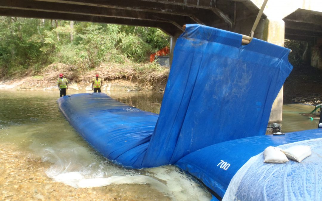 Seamless Bridge Repair and Dewatering with the Aqua Barrier